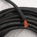 Сварочный кабель КГ (кабель гибкий) 1*25. в резине 1х25 полноценный., фото 2