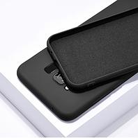 Чехол Silicone Case full для Samsung Galaxy J4 (J400) black