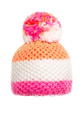 Подростковая вязанная шапочка с бумбоном Starling., фото 2