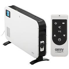 Обогреватель конвектор электрический с дистанционным управлением и LCD дисплеем Camry CR-7724 2300W White/Blac