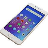 Смартфон мейзу безрамочный, тонкий с ЖСМ+СДМА на 2 sim Meizu M6 M711H 2/16Gb gold Global Version, фото 2