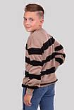 Класний джемпер в смужку для хлопчиків 128-152р, фото 8