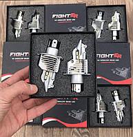 Яркие Светодиодные LED лампы H4 - FIGHTER 11000lM 6500K Hi-Low LED лампы