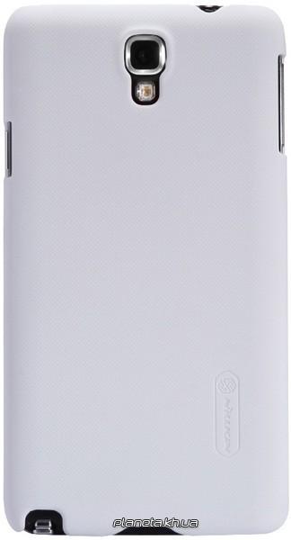 Nillkin Super Frosted Shield пластиковый чехол-накладка для Samsung Galaxy Note 3 Neo N750/N7502/7505 Белая