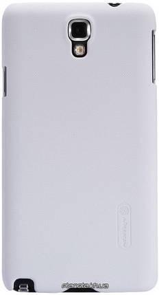 Nillkin Super Frosted Shield пластиковый чехол-накладка для Samsung Galaxy Note 3 Neo N750/N7502/7505 Белая, фото 2