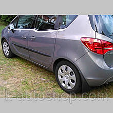 Молдинги на двері для Opel Meriva B 2010-2017