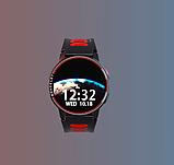 Смарт часы Фитнес браслет трэккер L6 c сенсорным IPS экраном .Браслет здоровья пульсометр тонометр + Подарок, фото 2