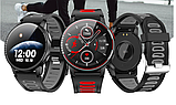Смарт часы Фитнес браслет трэккер L6 c сенсорным IPS экраном .Браслет здоровья пульсометр тонометр + Подарок, фото 3