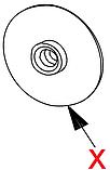 9111.773.060 Пластикове кільце для мотора міксера, Vending, фото 2