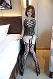 Сексуальна боді-сітка в упаковк боди сетка бодистокинг сексуальное белье, фото 3