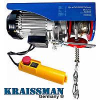 Электрическая лебедка тельфер KRAISSMANN SH 125/250 (125/250 кг)