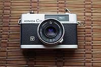 Фотоаппарат Konica C35 V Hexanon 38mm под ремонт, запчасти