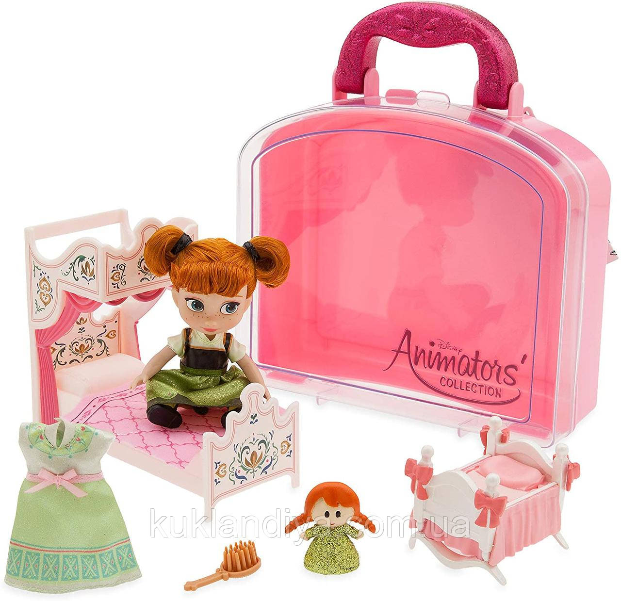 Набор Анна Disney Animators' Collection Anna Mini