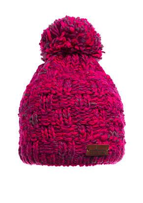 Подростковая вязанная качественная шапочка с помпоном, произведена в Польше., фото 3