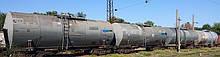 Ємності для зберігання бітуму і в'язких нафтопродуктів.