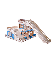 Детский гараж для машинок