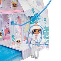 Домик для кукол ЛОЛ Сюрприз Зимний Шале  - LOL Surprise Chalet Winter Wonderland 571452, фото 4