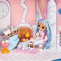 Домик для кукол ЛОЛ Сюрприз Зимний Шале  - LOL Surprise Chalet Winter Wonderland 571452, фото 5