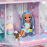 Домик для кукол ЛОЛ Сюрприз Зимний Шале  - LOL Surprise Chalet Winter Wonderland 571452, фото 6
