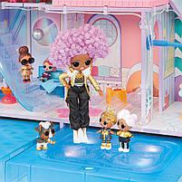 Домик для кукол ЛОЛ Сюрприз Зимний Шале  - LOL Surprise Chalet Winter Wonderland 571452, фото 8