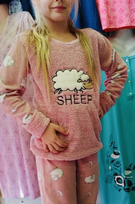 Детская Махровая пижама Турция в разных цветах