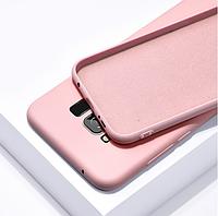 Чехол Silicone Case full для Samsung Galaxy J4 (J400) Pink