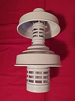 Вертикальний наконечник 60/100 грибок для коаксіального димоходу, фото 1