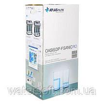 Фільтр зворотного осмосу Atlas Filtri Oasis DP-F Sanic PUMP-UV (мінералізатор, насос і уф-лампа) на каркасі, фото 3