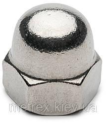 Гайка колпачковая DIN5187 М6 нержавеющая сталь А2