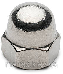 Гайка колпачковая DIN5187 М10 нержавеющая сталь А2