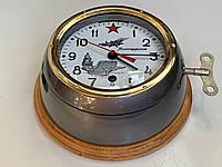 Корабельные, каютные, судовые часы 5-ЧМ. СССР, фото 1
