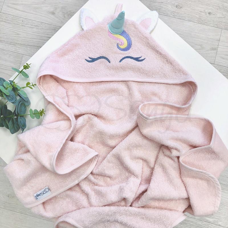 Рушник-куточок рожевий Єдиноріг