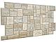 Декоративная Настенная Панель ПВХ Grace (Камень ракушечник бежевый), фото 2