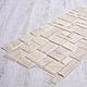 Декоративная Настенная Панель ПВХ Grace (Камень ракушечник бежевый), фото 4