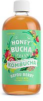 Комбуча медовая ТМ Honey Bucha с Клубникой, фото 1