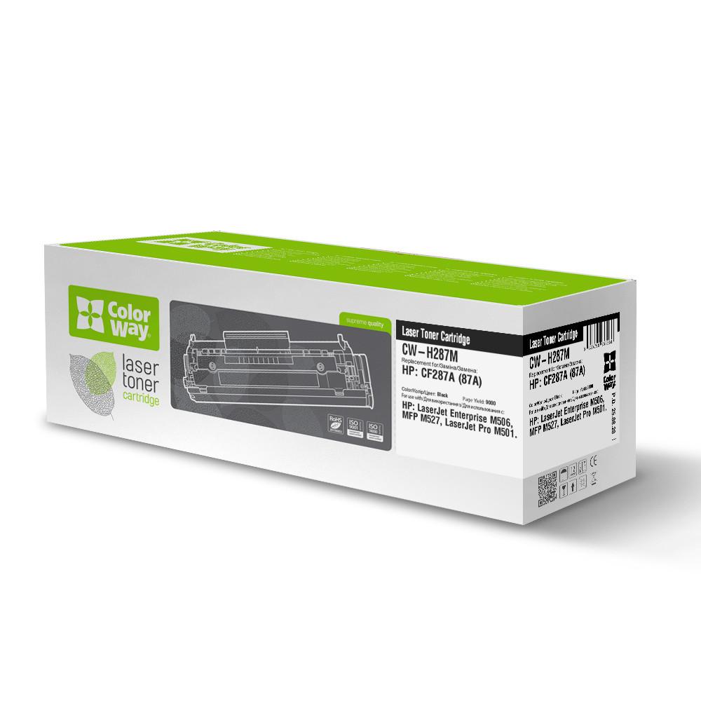 Картридж Лазерный для HP CF287A (87A) ColorWay