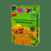Каша безмолочная органическая HiPP Мультизлаковая 200 г (9062300130598_9062300139768)