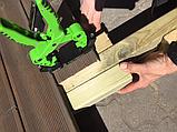 Монтажний інструмент для прихованого монтажу терасної дошки HDS 3-6 мм, 110-150 мм, VER. 4, пр-во Швеція, фото 2