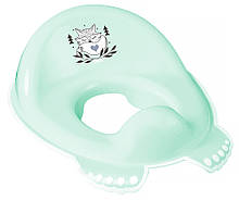 Накладка на унітаз Tega Little Fox (Plus Baby) PB-LIS-002 нековзна 105 light green