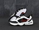 Чоловічі кросівки Nike Air Monarch white / black, фото 4