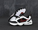 Мужские кроссовки Nike Air Monarch white / black, фото 4
