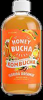 Комбуча медовая ТМ Honey Bucha с Апельсином и Ванилью, фото 1