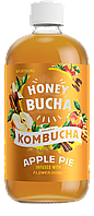 Комбуча медова ТМ Honey Bucha з Яблуком та Корицею, фото 1