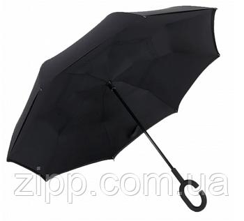 Зонт Наоборот Up-brella - Зонт Обратного Сложения | Черный