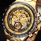 Мужские часы Winner Action Gold, фото 4