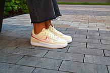 Кроссовки женские Nike Air  1 Shadow Yellow Pink Найк Аир Шадов 1  Реплика, фото 3