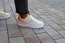 Кроссовки женские Nike Air  1 Shadow Yellow Pink Найк Аир Шадов 1  Реплика, фото 2
