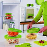 """Набор пищевых контейнеров с крышкой Luminarc """"Keep'nBox"""" 3 шт (N0016), фото 1"""