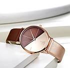 Shengke Женские часы Shengke Duos Brown, фото 4