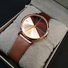 Shengke Женские часы Shengke Duos Brown, фото 7
